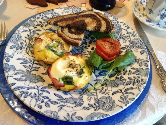 1868 Crosby House: Cooked breakfast - delicious local produce