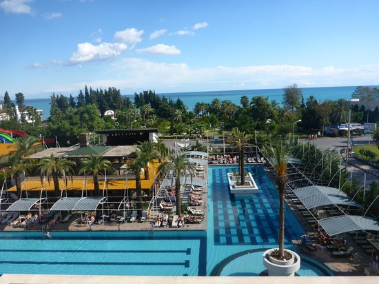 Crystal De Luxe Resort & Spa: View from Room