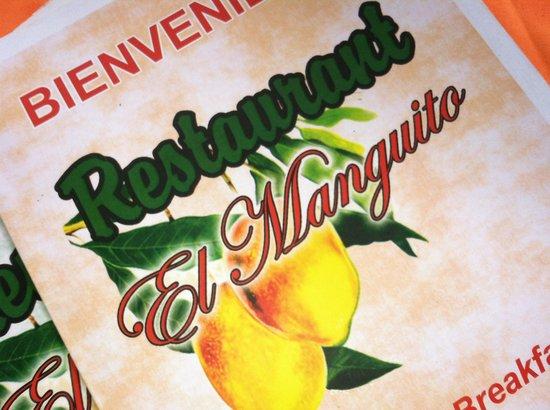 Restaurant el Manguito: Menu