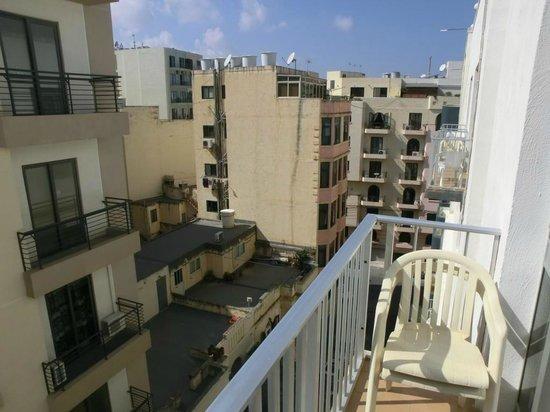 Plevna Hotel : Вид с балкона