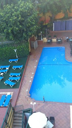 Roc Hotel Flamingo: view from balcony