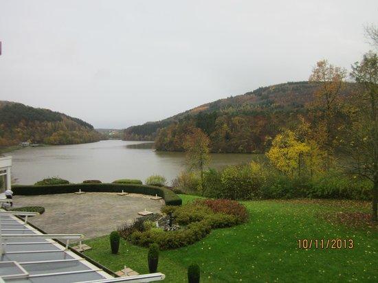Dorint Seehotel & Resort Bitburg/Sudeifel : vue de la chambre
