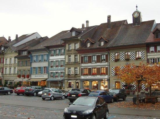 Hotel Krone : Village at Aarberg