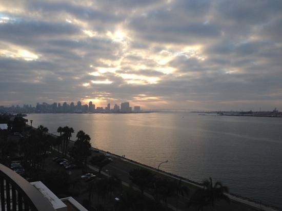 The Sheraton San Diego Hotel & Marina : view from Sheraton Bay front
