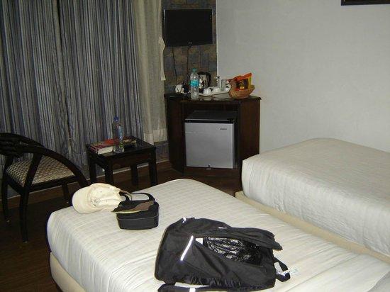Hotel Heritage Inn: Twin room (primera planta)