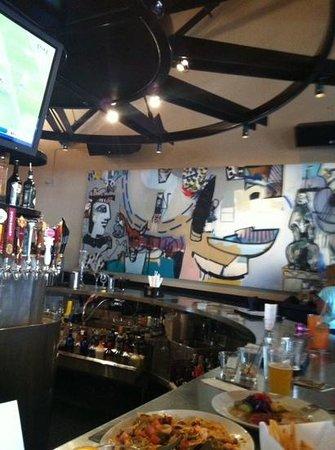 Yard House : our bar area