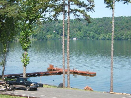 Hampton Inn Guntersville: Great Boating Area