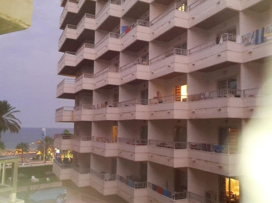 Bajondillo Apartments: view from balcony
