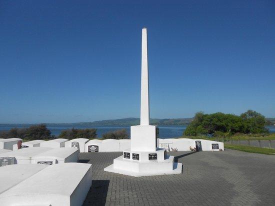 Ohinemutu: maori memorial