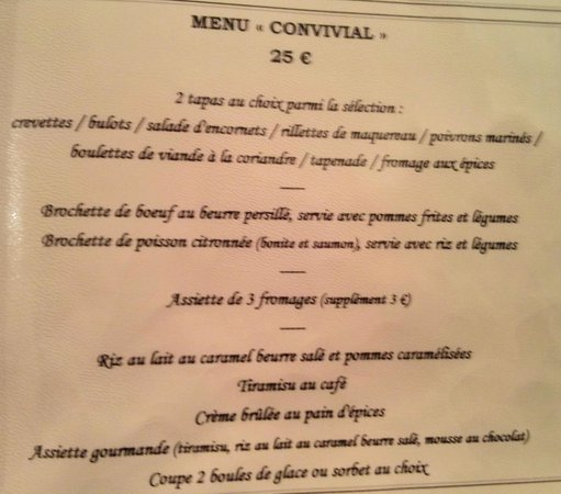 Menu breton photo de le jardin delice saint cast le for Jardin lee menu