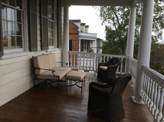 Zero George Street: Our Porch