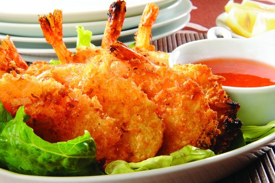 The Boiler Room Steak House: Coconut Shrimp