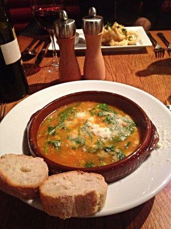 Piccolino: Minestrone soup