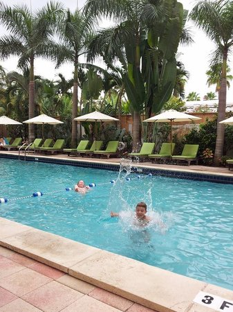 South Seas Hotel: Poolen