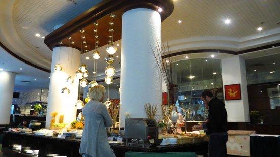 Le Garden Hotel: ресторан