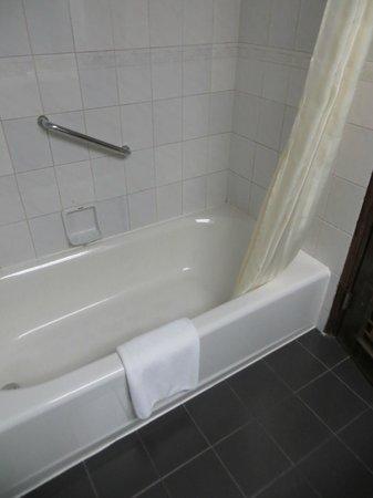 Le Garden Hotel: очень низкая ванна