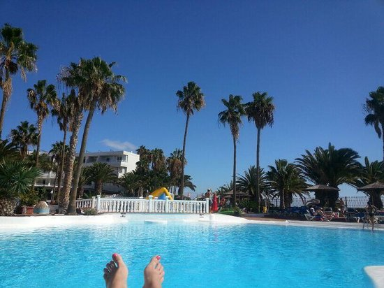 Sol Lanzarote All Inclusive : One of the beautiful pools