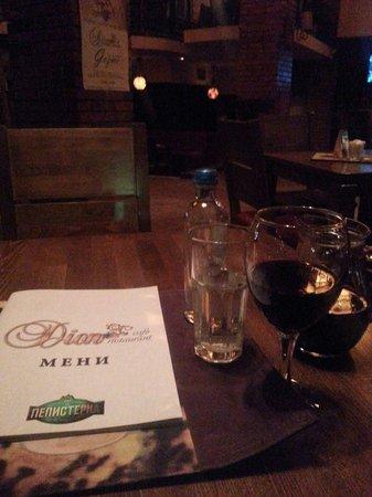 Cafe Restaurant Dion: Before dinner