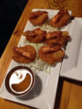 Khao San Road: Garlic shrimp appetizer, comes with 6 pieces