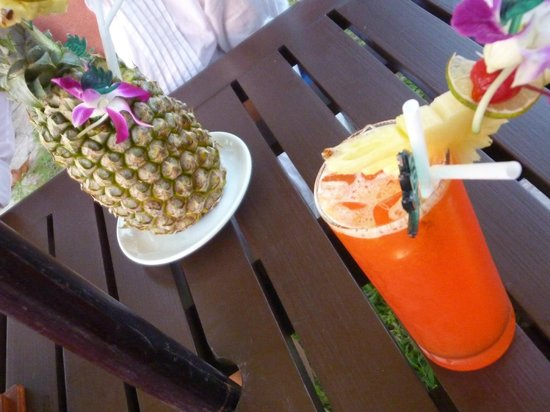 Khaolak Merlin Resort: 2 der tollen Cocktails