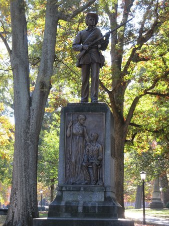 University of North Carolina: The story goes,Silent Sam, only fires his gun in the presence of virgins