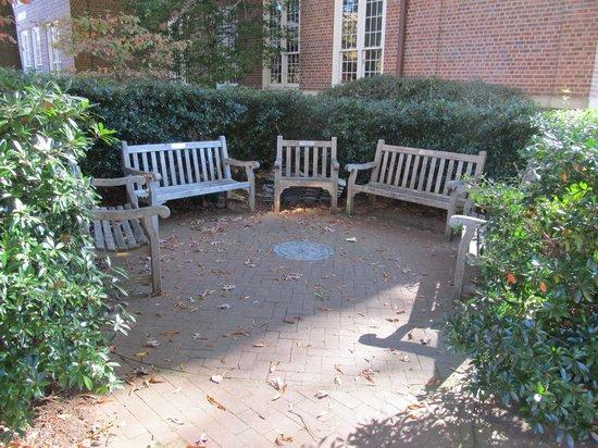 University of North Carolina: Seating area off one of the Halls