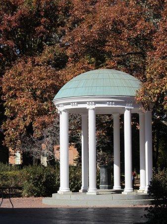 University of North Carolina: The old well