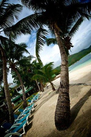 Hotel L'Archipel: Private beach