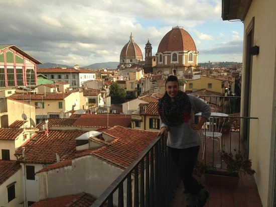 Hotel Machiavelli Palace : terraza de lahabitación 506