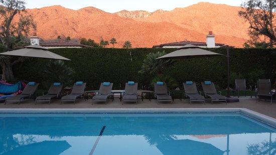 Desert Riviera Hotel: Sonnenaufgang