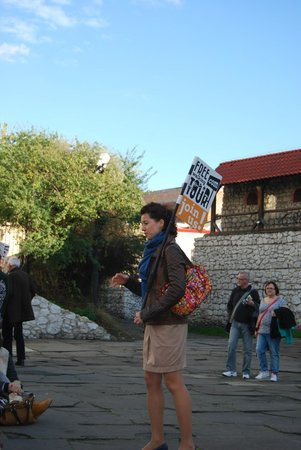 Krakow Free Walking Tour: Johanna The Guide