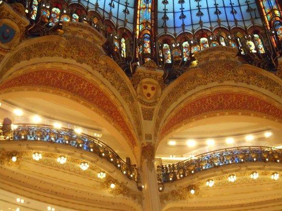 Hotel Cluny Square : Galerias Lafayete