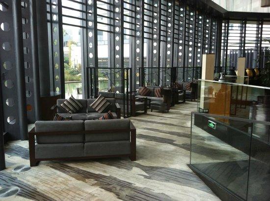 Worldhotel Grand Dushulake Suzhou : Lobby bar