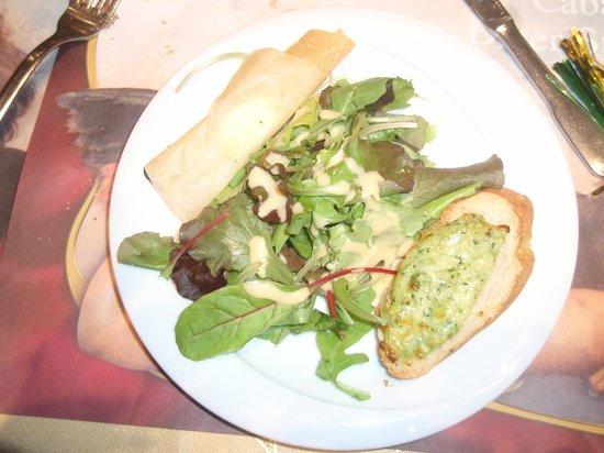 Le Baroque : fromage...............salade...........jolie présentation