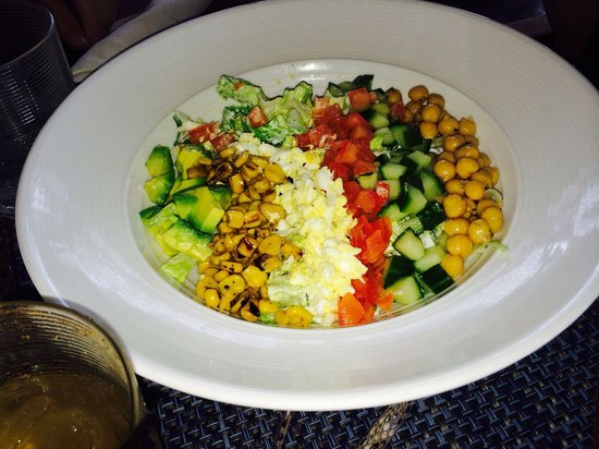 Four Seasons Resort Nevis, West Indies : Salad time !!!
