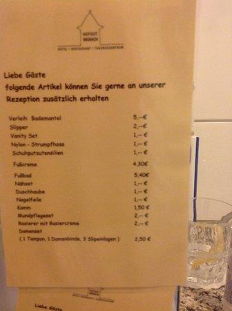 Hotel Hofgut Imsbach: Angebot des Hotels