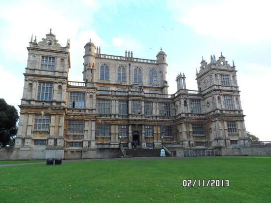 Wollaton Hall and Park: manor