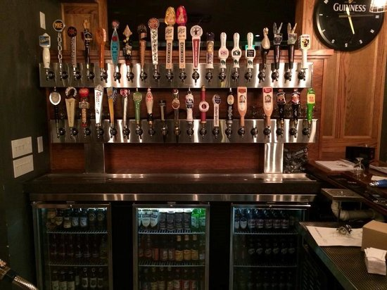 Dublins : Did I mentiuon 40 craft beers on tap??