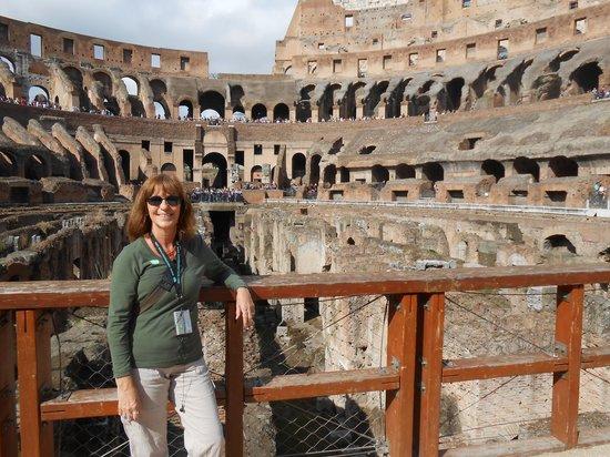 Rome Coliseum Guided Tours : Coliseum Viewing Platform level 1