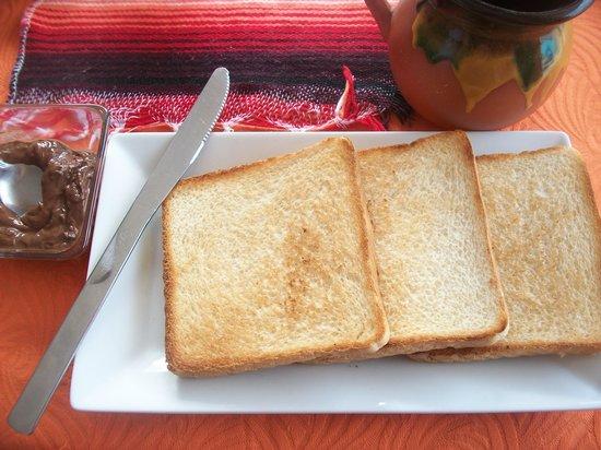 Q' Bravo: Pane tostato con Nutella