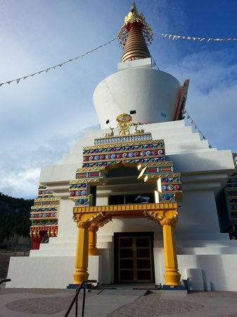 Shambhala Mountain Center : The Great Stupa