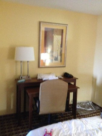 Holiday Inn Express Hotel & Suites Murray : Desk area
