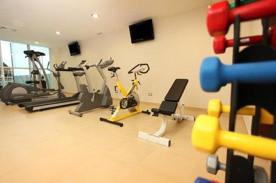 Hotel Ciudad de David: Gym Gimnasio