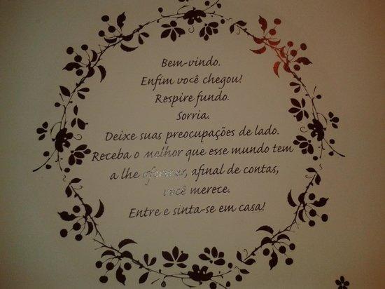 Bonita Ipanema Pousada & Hostel: Boas vindas