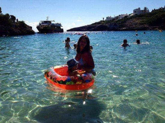 Inturotel Esmeralda Park: Clear waters. A dream!