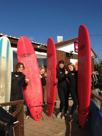 Baleal Surf Camp: Lets Surf!