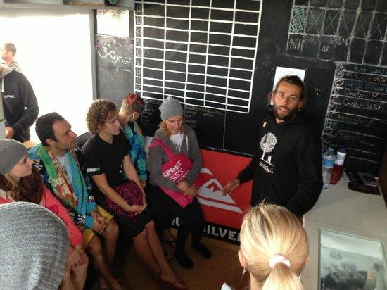 Baleal Surf Camp: School