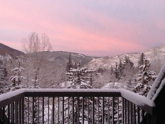 Hotel Talisa, Vail : View from 205