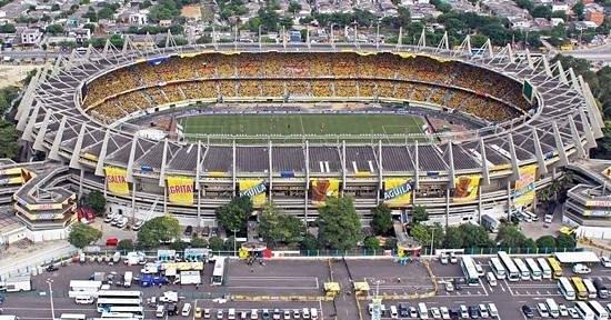 """Barranquilla, Colombia: Estadio Roberto Melendez """"Metropolitano"""""""