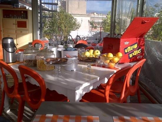 Orange Hotel: la colazione